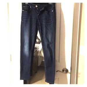 Express Mia mid rise jeans